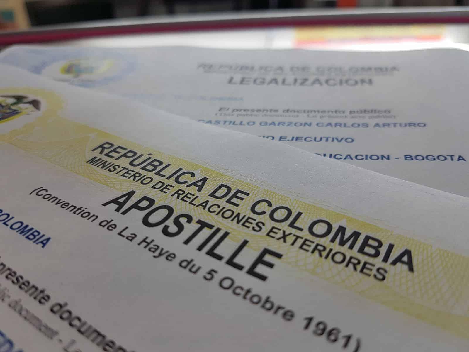 Foto cortesía de apostillacolombia.com.co