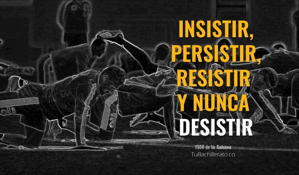 Insistir, persistir, resistir y nunca desistir. Qué aprendimos de quienes perdieron el examen de validación.