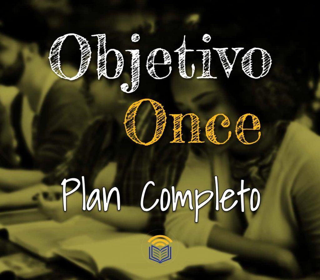 Objetivo Once Plan Completo