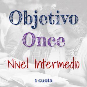 Programa Objetivo Once Nivel Intermedio. Validación del Bachillerato Virtual. Pago de Contado.