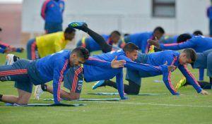 Prácticas de la selección Colombia
