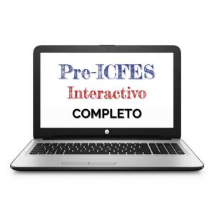 Programa de Pre-ICFES Interactivo Completo. Pago de Contado.
