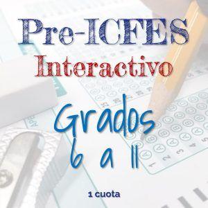 Programa de Pre-ICFES Interactivo Grados 6 a 11. Pago de Contado. Academia de Bachillerato Virtual.