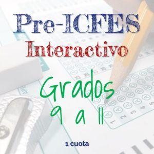 Programa de Pre-ICFES Interactivo Grados 9 a 11. Pago de Contado. Academia de Bachillerato Virtual.