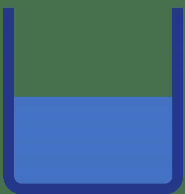 El tanque a medio llenar representa el nivel de conocimientos mínimo que otorga diploma de bachiller.